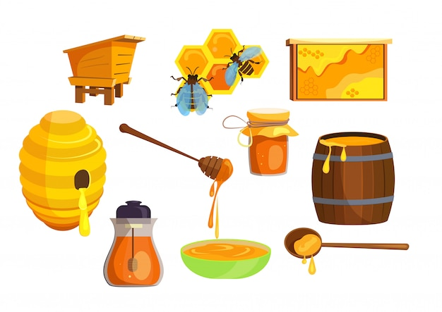 Honey production set