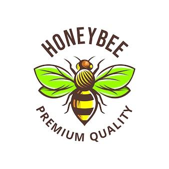Honeybee illustration premium quality