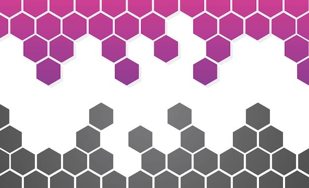 Honeycomb background wallpaper vetor image