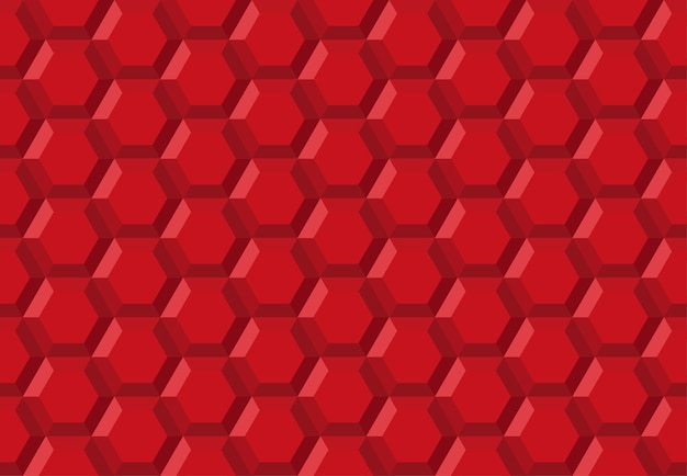 Honeycomb hexagon robot technology abstract seamless pattern