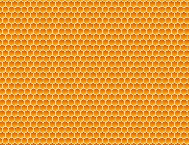 Honeycomb monochrome honey pattern.