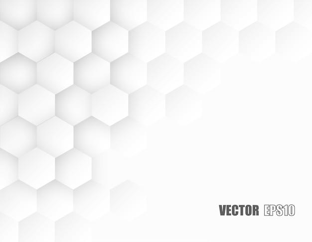 Honeycomb white background