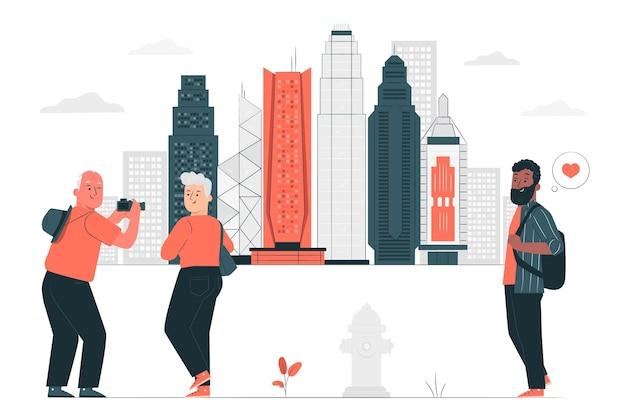 香港の概念図