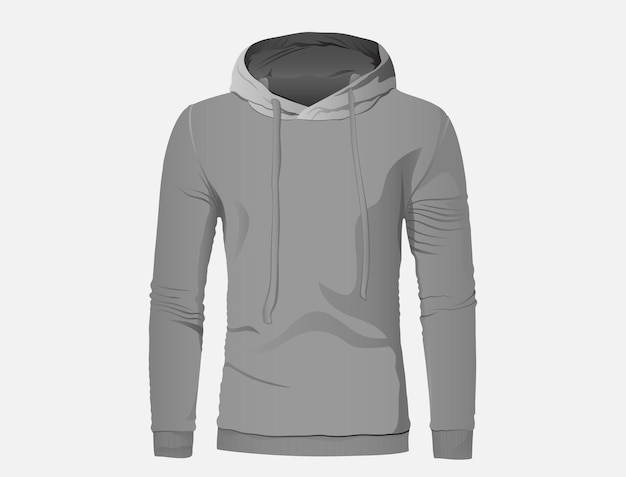 A hoodey jacket in gray