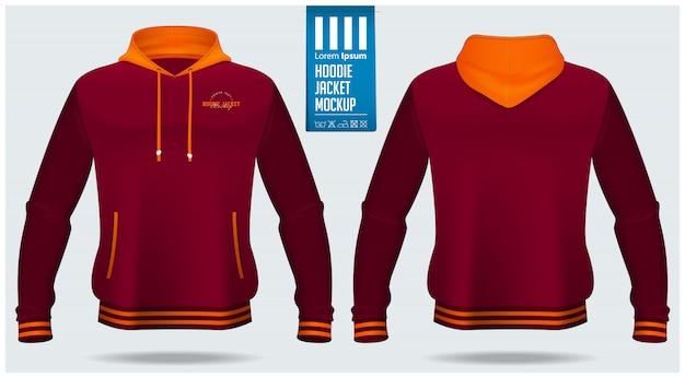 Hoodie jacket template
