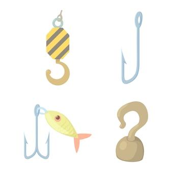 Hook icon set