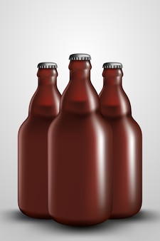 Hop bottle small Premium Vector