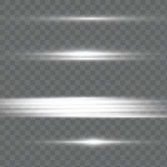 白い背景に水平および垂直の黒いストライプ
