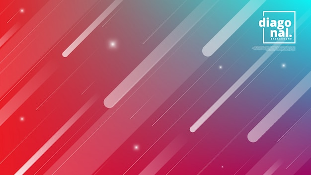 Horizontal banners with abstract background and diagonal line shapes.