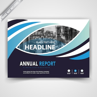 Horizontal commercial brochure