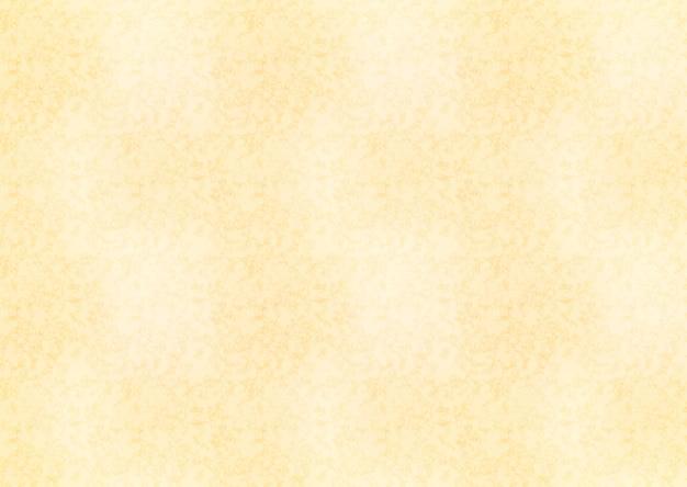 古い紙テクスチャ背景の水平の黄色いシート