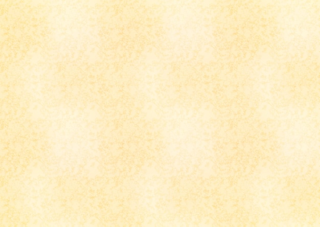 Horizontal yellow sheet of old paper texture background