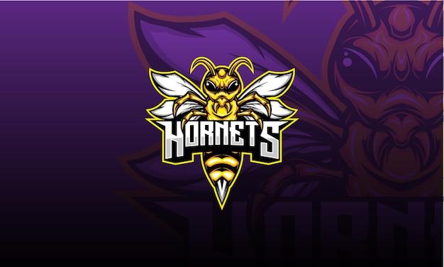 Логотип hornet esport