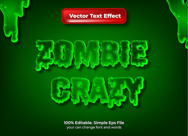 Horor text effect editable night and scary text style