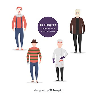Horror movie characters for halloween