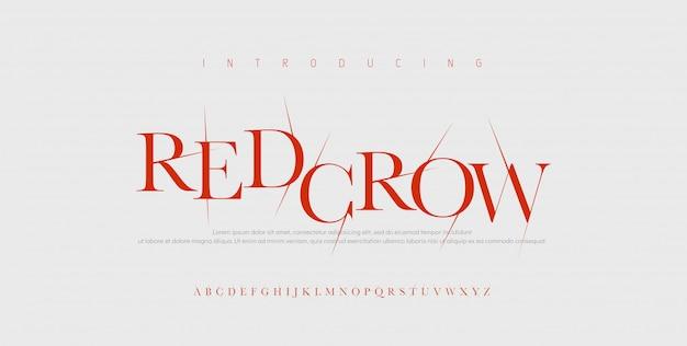공포 무서운 영화 알파벳 글꼴입니다. 할로윈 게임 글꼴로 깨진 타이포그래피