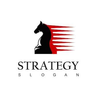 Horse logo, strategy symbol