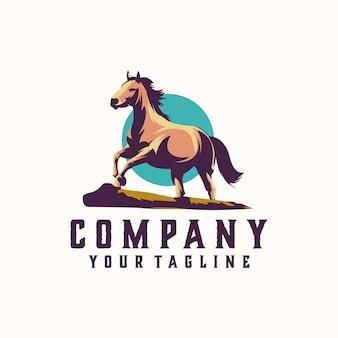 Логотип лошади