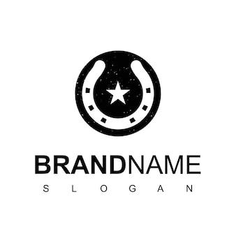 Логотип подкова родео