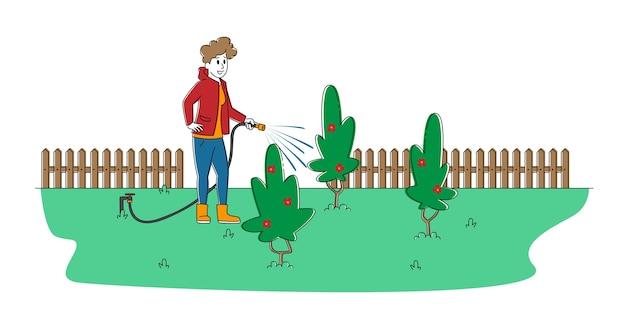 원예, 양초 재배 또는 원예 취미