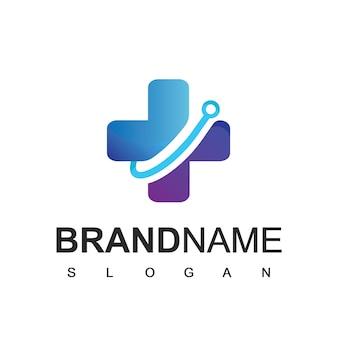 Hospital logo, health care symbol
