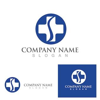 Hospital logo symbol vector template