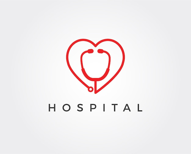 Hospital logo and symbols template