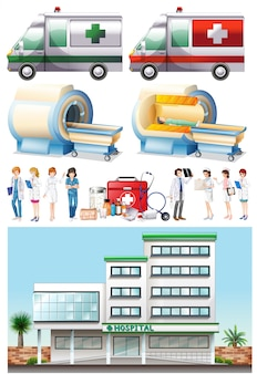 Hospital and medical elements