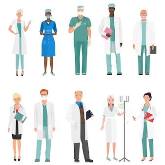 Hospital medical staff doctors