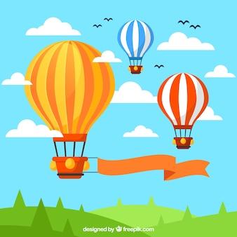 Hot Air Balloon Vectors Photos And Psd Files Free Download