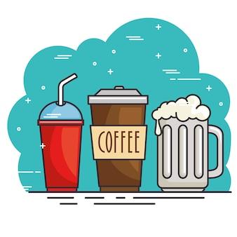 Горячий и холодный напиток