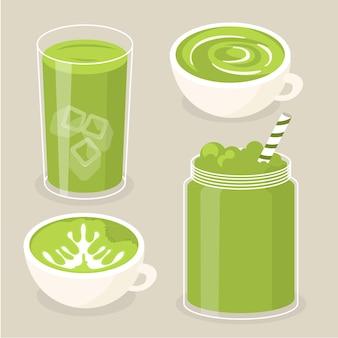 温・冷の抹茶セット