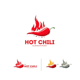 Hot chili logo
