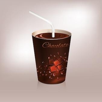 핫 초콜릿 디자인