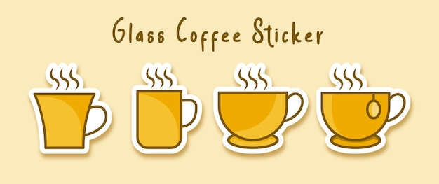 Tazza di tè caldo caffè