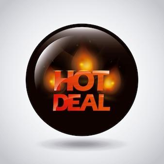 Дизайн горячей сделки