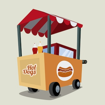Hot dog design