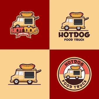 Hot dog logo