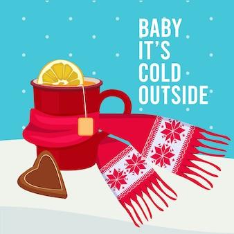 Фон горячего напитка. мультфильм кружка с теплым жидким кофе или изображением чашки чая. иллюстрация теплая и горячая кружка, мультфильм пить чай
