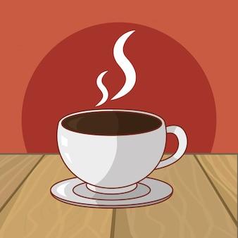 Hot drink cartoon