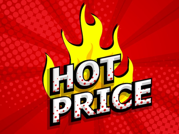 Hot price for sale discount label comic book, pop art