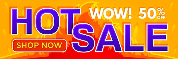 Hot sale banner sale and discounts