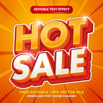 Горячие продажи жирный 3d редактируемый текстовый эффект шаблона стиля