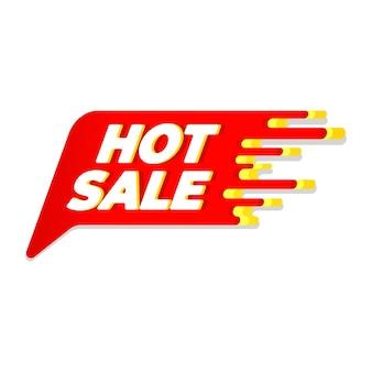 Hot sale label, sale tag, hot sale 3d bubble.