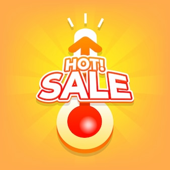 Hot sale with thermometer.