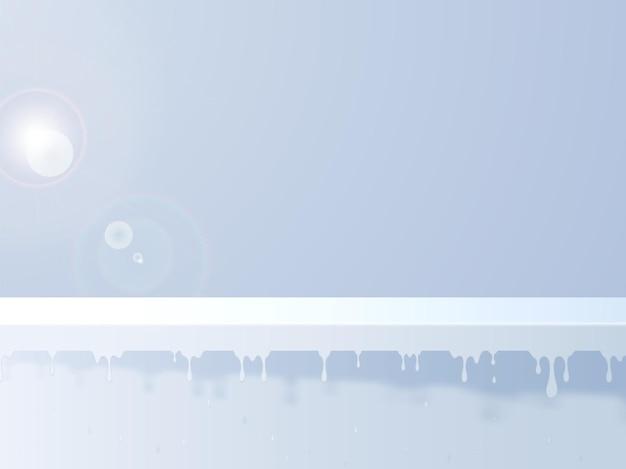 태양 아래 제품 여유 공간을 위한 뜨거운 여름 무대 연단