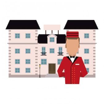Hotel bellboy service