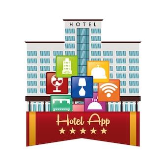 Hotel and digital apps design