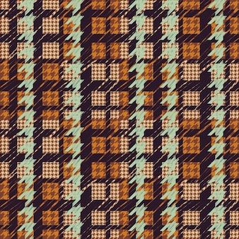 Houndstooth pattern colored
