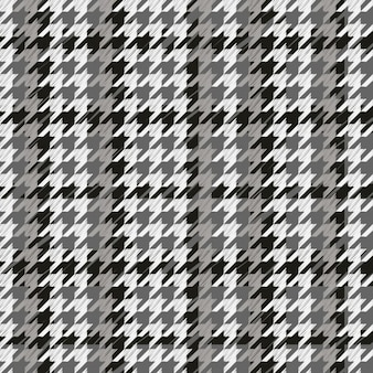 Houndstooth pattern gray